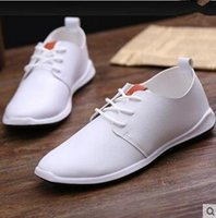 Cheap 2016 summer men's casual shoes, men's breathable soft flat shoes British minimalist car
