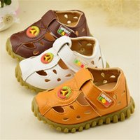Wholesale 2016 New Boys Summer Sandals PU Fashion Baby Shoes Children Beach Light Shoes Boys Sandals Slippers Kids Shoes Size