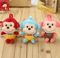baby funny games - Plush Doll Cartoon Funny Overalls Bib Pants Monkey Home Decoration Children Stuffed Toy Creative Gift for Baby
