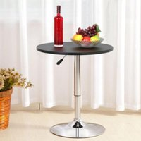 Wholesale Adjustable Swivel Pub Kitchen Bar Table Home Indoor Outdoor Patio