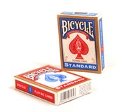 bicycle practice - NEW Bicycle cards Poker Blue or Red Standard Neophyte practice Bicycle Playing Cards Magic Tricks