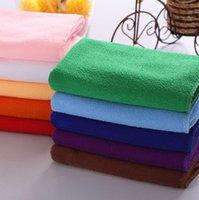 Wholesale Microfiber Cleaning Towel Car Washing Nano Cloth Dishcloth Bathroom Clean Towels Rectangle x27inch