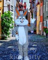 Wholesale New bugs bunny mascot costume adult plush roadrunner theme anime costumes mascotte fancy dress kits for sport carnival