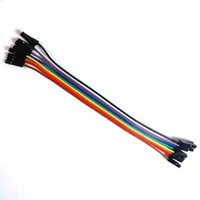Wholesale ASDOMO A Row Pin Dupont Wire Cable mm cm P P Female to female fr Arduino T1372 W0