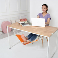 hammock stand - Hot Mini Office Foot Rest Stand Feet Hammock Easy to Disassemble Home Library Hot Search