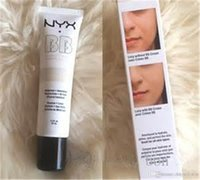 Wholesale New arrival NYX BB Cream beauty balm baume beaute brightens smoothes moisturizes oil free Mineral Enriched ml with retail box