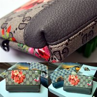Feed Bag - New Women Wallets Mini Leather Coin Purse Fashion Brand Flowers Feed Clutch Bags Key Cases Card Pack Phone pocket Women Coin Purse