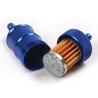 fuel filter for motorcycle - Universal Aluminum Conversion Gasoline Filter Fuel Oil Filter For Motorcycle off road vehicles ATV etc