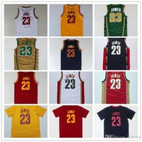 Wholesale 2016 Hot Sale LeBron s Patch Jerseys Stitched for Best quality jamES College Retro Theme Costume Size S XXL
