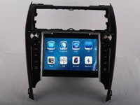 american dash - 2 DIN Car DVD Radio Audio Multimedia Player GPS For Toyota Camry European American Version Up Retail Pc