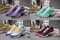 art materials - Women s Max TN Ourdoor Running Shoes Top Quality Nanotechnology KPU Material Classical Durable Air TN Sport Sneakers Size