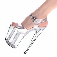 Stiletto Heel b grade shoes - High grade crystal party dress shoes cm super high heels cm heel stage performance model with new shoes