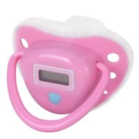 adult baby pacifier - IH0000101E New Baby Nipple Electronic Health Monitors Care Baby Pacifier Shaped Digital Thermometer Thermometers
