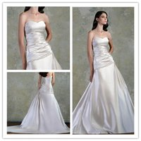 online store - 2017 new luxuriant style wedding dress a strapless satin gown customizable Welcome to icebeauty66 online store