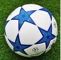 Wholesale Size football ball professional football match european cup champions PU Laminated Soccer ball