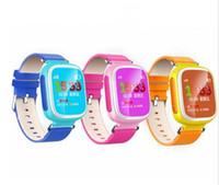 Nueva Q80 de los niños GPS de Posicionamiento Smart Phone Watch 1.44 pulgadas de color Anti Perdidos de dos vías Llamar Ubicación Dispositivo PK Q50 Q60 Q90