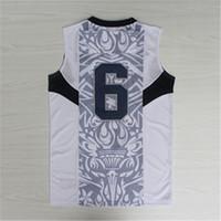 olympic basketball jersey - Blue Jersey Dream Team Authentic Jersey USA Olympic Games Basketball Jersey Best quality Size S XXL