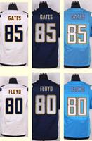 antonio gates jersey - 2016 New Men s Antonio Gates Malcom Floyd White Light Blue Navy Blue Elite jerseys Top Quality jerseys
