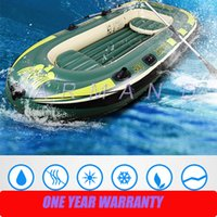 Wholesale Top quality Rubber boats thickening inflatable boat canoe speedboats fishing boats and rescue boats hovercraft two people