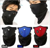 bicycle cutout - Best Selling Neoprene Bicycle Motorcycle Snowboard Ski Cycling Half Face Mask with a Cutout for Nose Breathing Neck Warmer for Men and Women