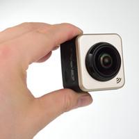 Wholesale SPORT CUBE Mini Sports Action Camera degree Panoramic VR Camera Build in WiFi Camera H Video Mini Camcorder