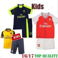arsenal kids t shirts - A quality16 Arsenal Kids jersey T shirt shorts Jerseys WILSHERE OZIL WALCOTT RAMSEY ALEXIS GIROUD Soccer Kids Jersey