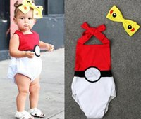 Wholesale POKE newborn Romper cotton bandage INS girl climb clothes printing indoor leisure sleeveless leotard Christmas Clothes Headband E476
