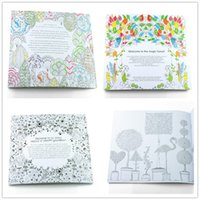 Wholesale Adult coloring books Design Secret Garden Enchanted Forest Animal Kingdom Children Adult Relieve Stress Kill Time Graffiti Painting