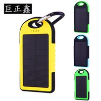 Wholesale Three proof solar ma mobile power solar charging treasure universal mobile charging power supply outdoor