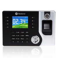 Wholesale Digital Electronic Reader Machine biometric time attendance system recorder AC071 USB Office Time Clock Support ID
