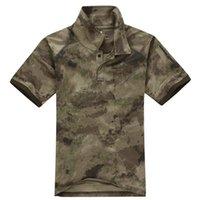 big man hunting clothes - Big Size Tactical T Shirts For Men Short Sleeve t shirts Hunting Clothing Quick Dry Outdoor Camo Combat tshirts Uniform Shirts Colors