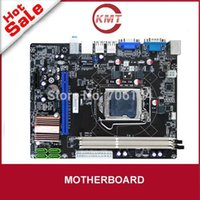 Wholesale fulll tested good work brand new Dual channel x SATA Gb s connector h61 lga1155 ddr3 ram motherboard
