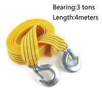 tow hitches - Tow strap tons meters high grade towing rope rope car tools supplies Tensioning Belts with hook trailer hitch tow rope
