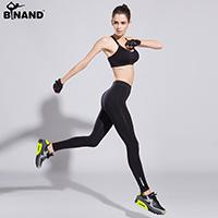 Wholesale Women s Sports Fitness Yoga Pants Functional Gym Running Workout Pant running Ankle length Pants Quick drying Push Up Leggings