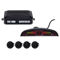 backup warning sensor - 2016 Car Auto LED Display Reverse Backup Radar System Buzzing Sound Warning with Parking Sensors
