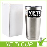 Wholesale 2016 Hot Sale Rambler Tumbler oz YETI Cups Cars Beer Mug Large Capacity Mug Tumblerful DHL TOP quality
