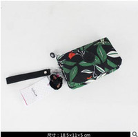 imported fabric - 2016 Fashion Brand Women Wallets With Mini Monkey Clutch Mobile Phone Bag Imported Water Repellent Fabric Three Layer Thick Woman Handbag