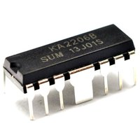 audio power ic - DIP12 KA2206B dual channel audio power amplifier