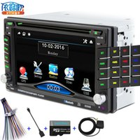 antenna videos - New universal Car Radio Double din Car DVD Player GPS Navigation In dash Car PC Stereo video Free Map Car Electronics