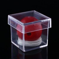 Wholesale Amazing Clear Ball Through Box Illusion Magic ConJuring Prop Magician Trick Game Tool Sell Hotting