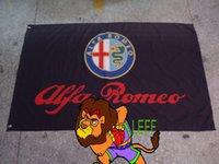 alfa flag - ALFA ROMEO Flag polyester cm ALFA ROMEO banner Digital Printing