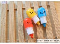 Wholesale DHL SF_EXPRESS Kawaii Capsule Pills Ballpoint Pens Creative pen For School Writing Supplies Stationery famliy Small ornament