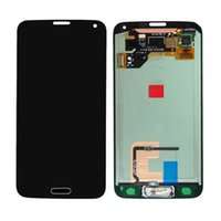 Wholesale For Samsung Galaxy S5 i9600 LCD Digitizer Front Assembly Replacement Original LCD Touch Screen Glass Panel
