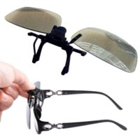 Wholesale Beautiful Gift Brand New Myopia Clip D Glasses Make Eyes See D Effect Movie Passive TV with Glasses Box
