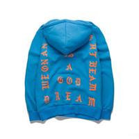 Wholesale Kanye west i feel like pablo hoodie men autumn winter hip hop yeezus hoodies streetwear women harajuku y ee zy sweatshirt pullover