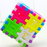 Wholesale 16pcs the new educational awareness of plastic building blocks children s educational toys fight inserted toys for children
