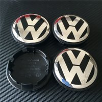 Wholesale 2500pcs Good Quality New Car Stylying mm Wheel Hub Centre Cap Caps Cover Badge Emblem Badge Auto Logo B7 For VW VOLKSWAGEN