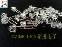 Wholesale ree shipping mm Strawhat LED RED YELLOW BLUE GREEN WHITE in diodes DIP super Brightness Mix kit led junction led tv