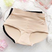Wholesale Fashion NEW women Mid waist Padded Seamless Breathable Butt Hip Enhancer Shaper Panties briefs Lady Underwear DHL