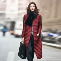 Wholesale 2016 New spring jacket women winter coat women s clothing warm outwear Cotton Padded long Jacket coat Slim trench coat